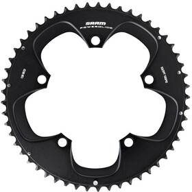 SRAM Road RED TT Plateau 130mm Aluminium 10 vitesses pour 55-42T sans Hidden Bolt, black